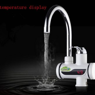 Instant Hot Water Tap with digital temperature display
